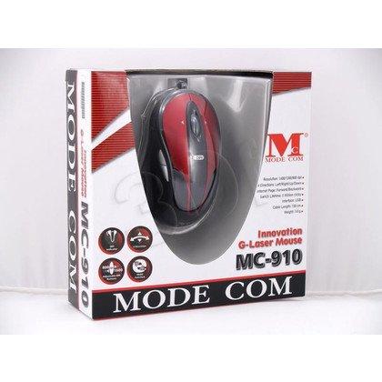 PRZEWODOWA MYSZ MODECOM MC-910 RED-BLACK