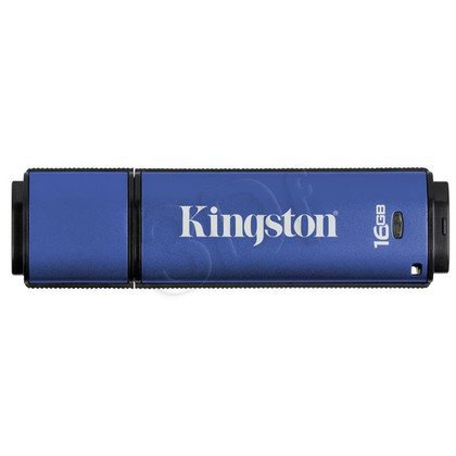 Kingston Flashdrive DataTraveler Vault Privacy 3.0 16GB USB 3.0 Niebieski