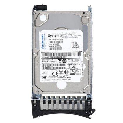 """Dysk HDD LENOVO 2,5"""" 600GB SAS-3 10000obr/min Kieszeń hot-swap 90Y8872"""