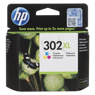 HP Tusz Kolor HP302XL=F6U67AE, 330 str., 8 ml