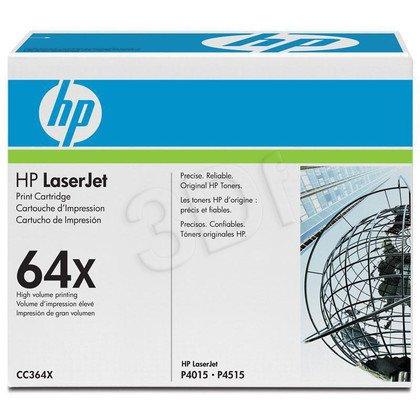 HP Toner HP64Xx2=CC364XD, Zestaw 2xBk, 2xCC364X
