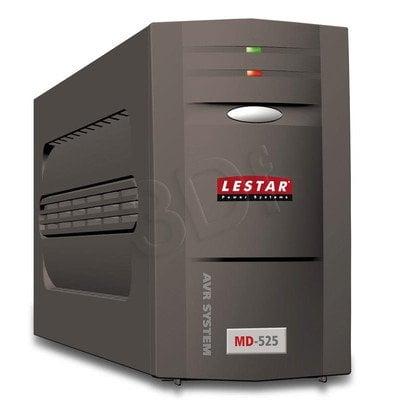 LESTAR UPS MD-525 525VA AVR 3+1XIEC USB RJ11 BLACK