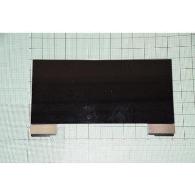 Szyba okapu górna czarna (1036133)