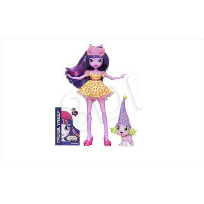 MLP MY LITTLE PONY EQUESTRIA GIRLS LALKA Z ULUBIEŃCEM HASBRO B1070 B1072 TWILIGHT AND SPIKE