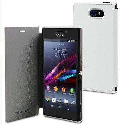 """Muvit Etui do telefonu Ultra Slim 4,8"""" Xperia M2 białe"""