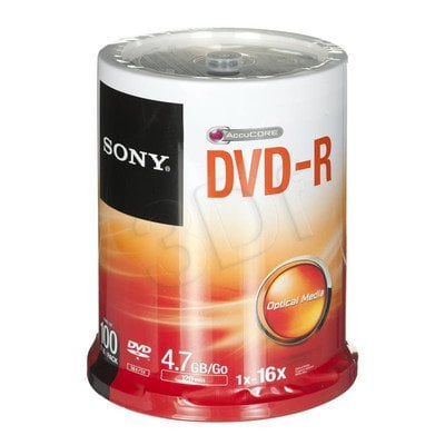 DVD-R Sony 100DMR47SP 4,7GB 16x