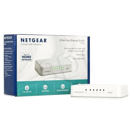 NETGEAR FS205-100PES Switch 5-port niezarządzalny