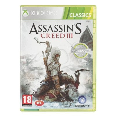 Gra Xbox 360 Assassins Creed III Classics