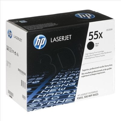 HP Toner Czarny HP55X=CE255X, 12500 str.