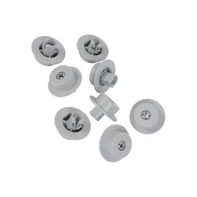 Zestaw kółek dolnego kosza zmywarki (4055072138)