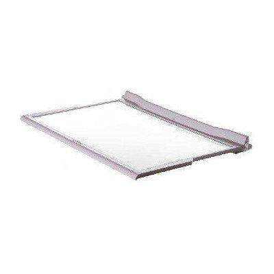 Półki na plastikowe i druciane r Półka szklana kompletna do lodówki Whirlpool (481245088134)
