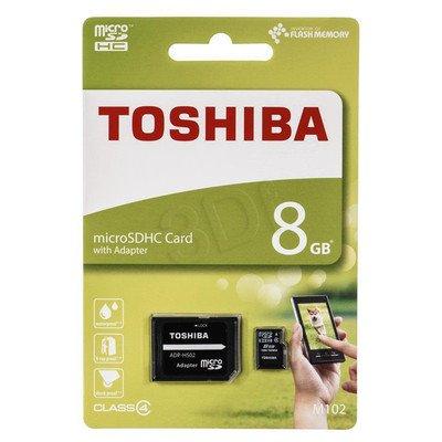 TOSHIBA micro SD M102 8GB Class 4 + adapter