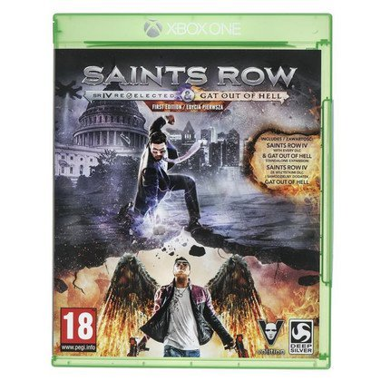 Gra Xbox ONE Saints Row IV Gat Out of Hell Ed. Firs