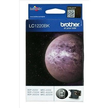 BROTHER Tusz Czarny LC1220BK=LC-1220BK, 300 str.