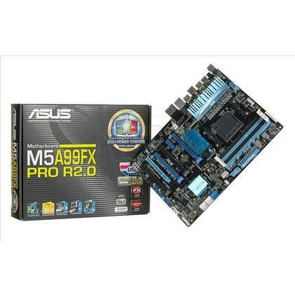 ASUS M5A99FX PRO R2.0 AMD 990FX Socket AM3+ (4xPCX/DZW/GLAN/SATA3/USB3/DDR3/SLI/CROSSFIRE)