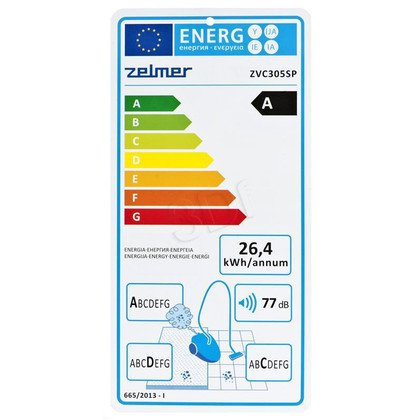 Odkurzacz Zelmer ZVC305SP (z workiem 650W szary)