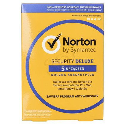NORTON SECURITY DELUXE 3.0 PL 1 USER 5D/12M CARD MM