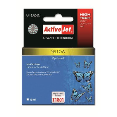 ActiveJet AE-1804N tusz żółty do drukarki Epson (zamiennik Epson T1804) Supreme