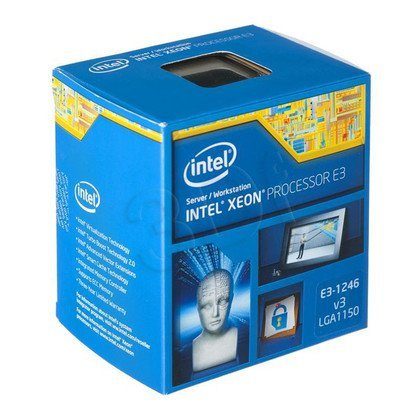 Procesor Intel Xeon E3-1246 v3 3500MHz 1150 Box
