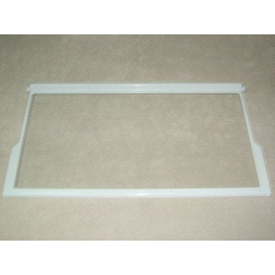 Półka szklana z ramkami 62x32.5 cm Whirlpool (481245088318)