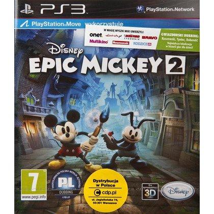 Gra PS3 Epic Mickey 2 Siła Dwóch