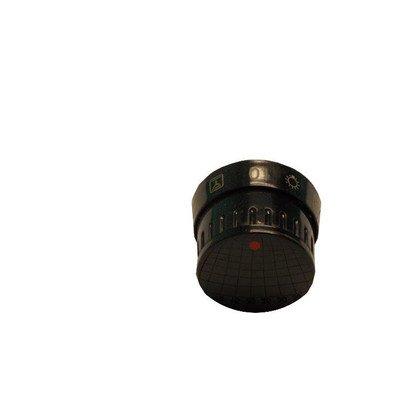 Pokrętło scandium 15 10553 czarne (9050640)