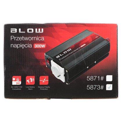 Przetwornica 24V/230V 300W BLOW