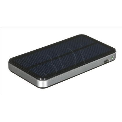 PowerNeed Ładowarka solarna S2700 2700mAh USB czarna