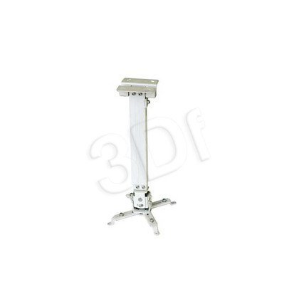 UCHWYT SUFITOWY DO PROJEKTORA Tapa 700-1200mm White