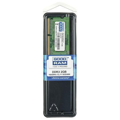 GOODRAM SO-DIMM DDR3 2048MB PC1600 CL11