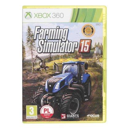 Gra Xbox 360 Farming Simulator 2015