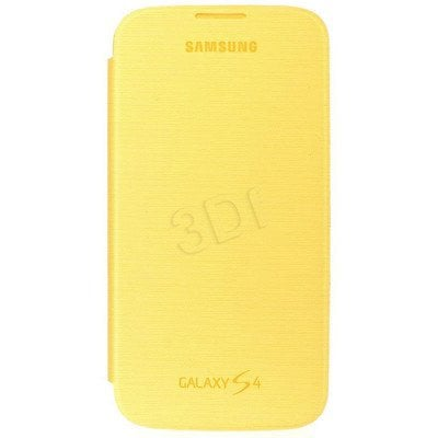 SAMSUNG ETUI FLIP CASE DO GALAXY S4 ŻÓŁTY