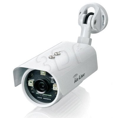 AirLive [BU-720] Kamera IP kierunkowa [zewnętrzna][1.3 Mega-Pixel][POE 802.3af][H.264][IR 25m][IP66][HD,WDR, MicroSD]