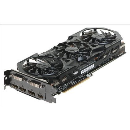 GIGABYTE GeForce GTX 960 4096MB DDR5/128bit DVI/HDMI/DP PCI-E (1304/7010) (wer. OC - Gaming) (went. WindForce 3)