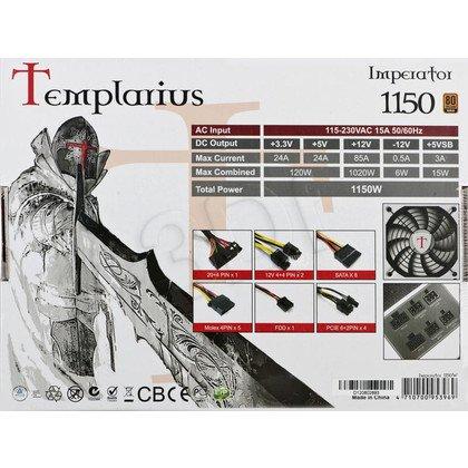 ZASILACZ AEROCOOL TEMPLARIUS IMPERATOR 1150 (1150W) MODULARNY - 80+ GOLD