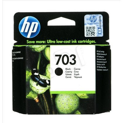 HP Tusz Czarny HP703=CD887AE, 600 str., 4 ml