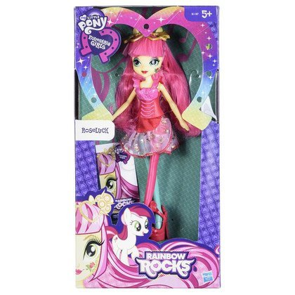 MLP MY LITTLE PONY EQUESTRIA GIRLS LALKA ROCK HASBRO B1187 ROSELUCK