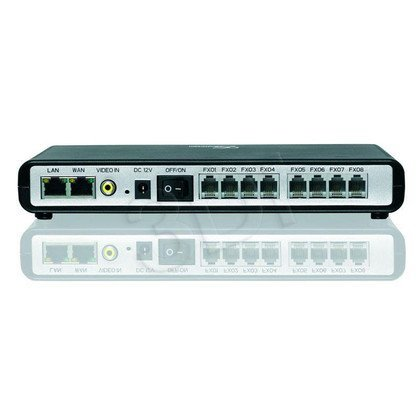 ADAPTER VOIP GRANDSTREAM GXW4108 (8xFXO)