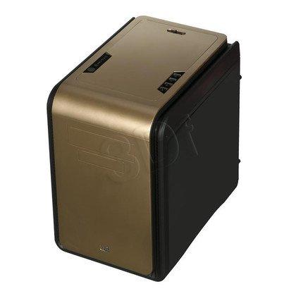 OBUDOWA AEROCOOL DS CUBE GOLD USB3.0 CZARNO-ZŁOTA