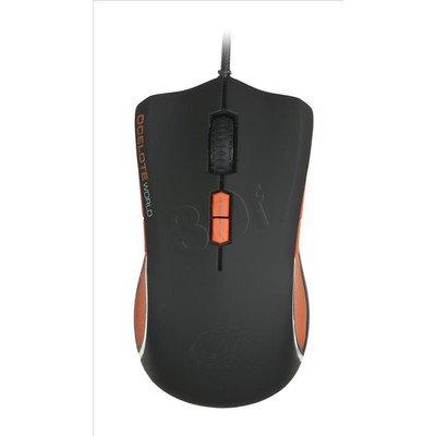 OZONE Mysz przewodowa laserowa ARGON 8200dpi czarno-pomarańczowa
