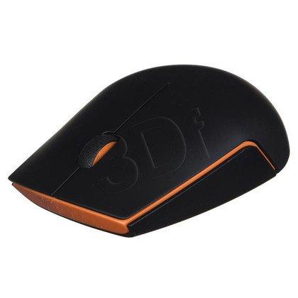LENOVO Mysz bezprzewodowa optyczna 500 1000dpi czarna