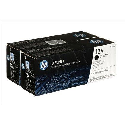 HP Toner HP12Ax2=Q2612AD, Zestaw 2xBk, 2xQ2612A