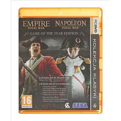 Gra PC PKK Total War Empire + Napoleon