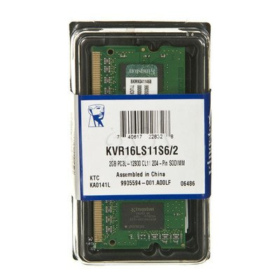 KINGSTON SODIMM DDR3 KVR16LS11S6/2 1,35V