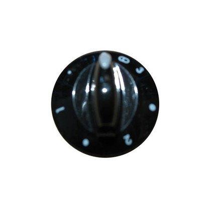 Pokrętło czarne płytki grzejnej z polem poszerzonym E501-2173 (9005646)