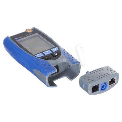 IDEAL tester okablow. VDV II Plus ID-R158002, Interfejs Coax, RJ11, RJ45, funkcje:::: wykrywanie i napięcia, Hub Link, Wykrywanie iurządzeń ethernet