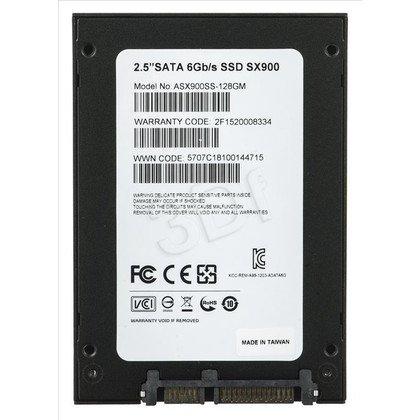 Dysk SSD A-DATA XPG SX900 128GB SATA III