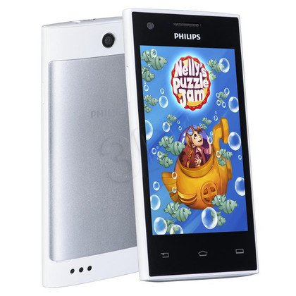 "Smartphone Philips S309 4GB 4"" 4.4 Biały"