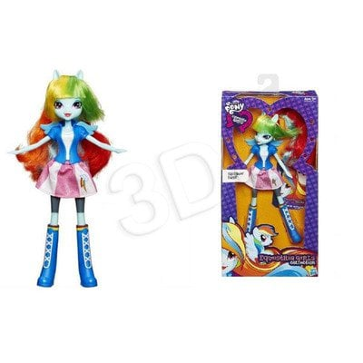 MLP MY LITTLE PONY EQUESTRIA GIRLS LALKA PODSTAWOWA HIGH SCHOOL HASBRO A9224 A9258 RAINBOW DASH
