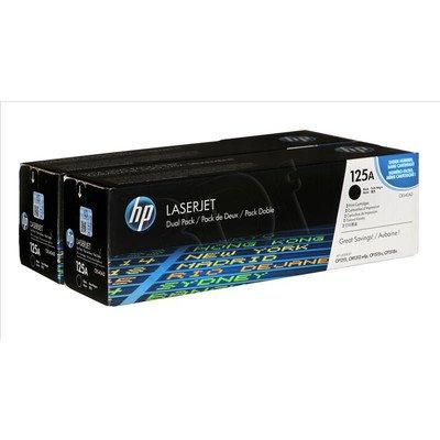 HP Toner HP125Ax2=CB540AD, Zestaw 2xBk, 2xCB540A